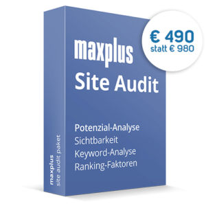 maxplus Site Audit Paket